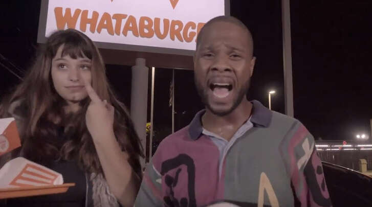 """Rapper Fat Tony of Houston has always been a very vocal champion of Texas' own Whataburger. Now he's released a song to honor the late-night fast food staple. His new NSFW """"Drive-Thru"""" single mentions his favorite Whataburger location and his favorite order."""