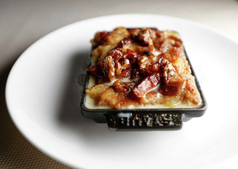 The Bacon Tres Leches Bread Pudding at Killen's STQ Photo: James Nielsen, Staff / © 2016  Houston Chronicle