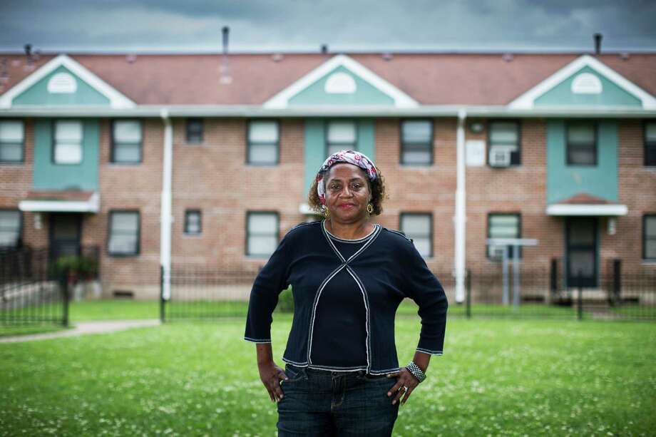 cuney homes resident veronica deboest was a natural fit for the program; she's been a health advocate for her neighbors for years - but without certification. Photo: Marie D. De Jesus, Staff / © 2017 Houston Chronicle