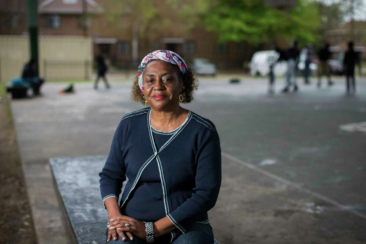 Veronica DeBoest, 63, is a University of Houston community health student and a member of the resident council of Cuney Homes working closely with the community providing assistance to elderly and creating programs for the Cuney Homes youth. Friday, March 10, 2017. ( Marie D. De Jesus / Houston Chronicle )