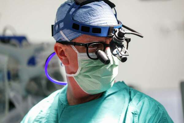 expert surgeon and native bostonian tom macgillivray says houston has won over his heart.