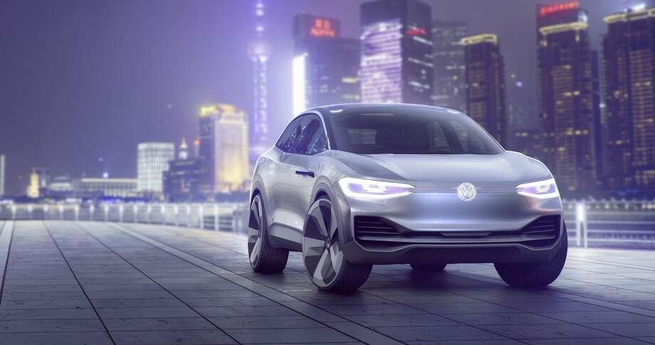 Volkswagen's renderings of the al-electric I.D. Crozz concept car. Photo: Volkswagen
