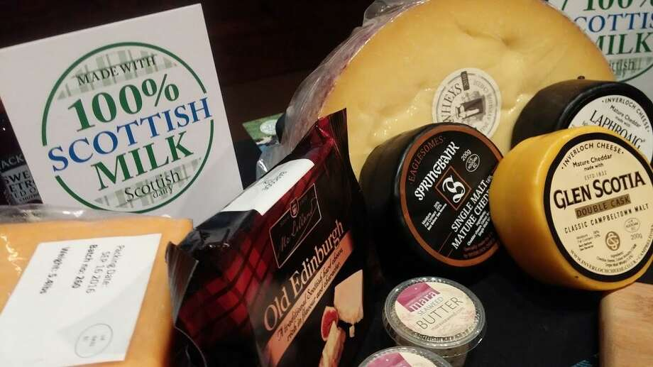 Cheeses from Scotland Photo: Frank Whitman / For Hearst Connecticut Media
