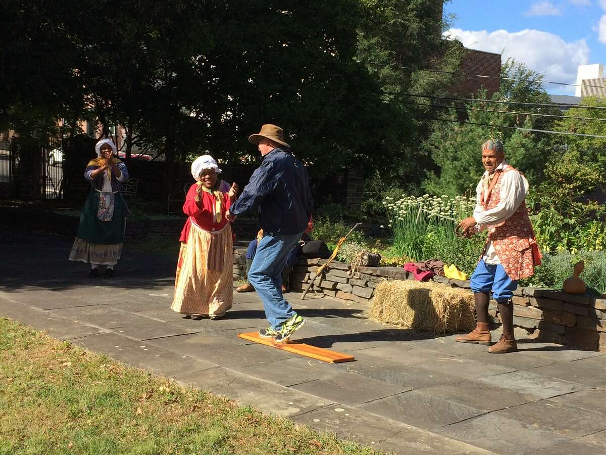 Pinkster will be celebrated on Saturday, April 22, 2017, at Fort Crailo State Historic Site in Rensselaer. (Photo courtesy of Cordell Reaves)
