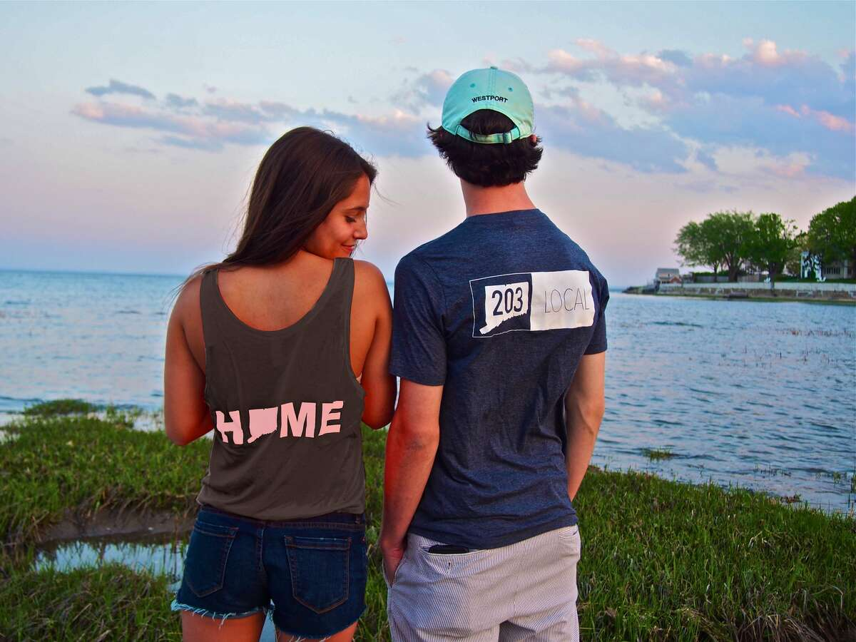 Siblings Tory and Roscoe Brown started Two Oh Three, a line of branded gear for lovers of Fairfield County, in 2014.