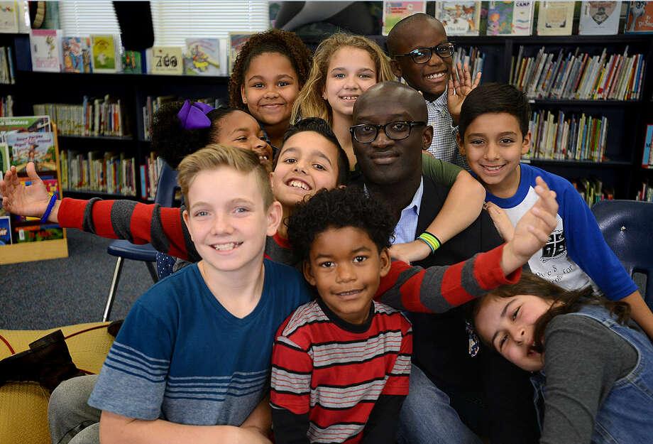 McRoberts Elementary Principal Kwabena Mensah  was named a Texas National Distinguished Principal finalist by the Texas Elementary Principals and Supervisors Association. Photo: Katy ISD