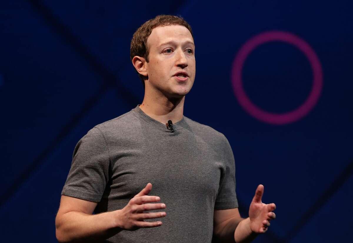 Facebook Chairman and CEO Mark Zuckerberg.