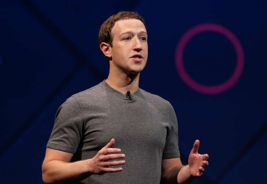 Facebook Chairman and CEO Mark Zuckerberg. Photo: Michael Macor / The Chronicle
