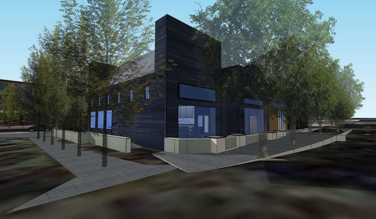 Exterior endering for Barranco, Carlos Altamirano's latest concept in Lafayette. Rendering via Crome Architetture