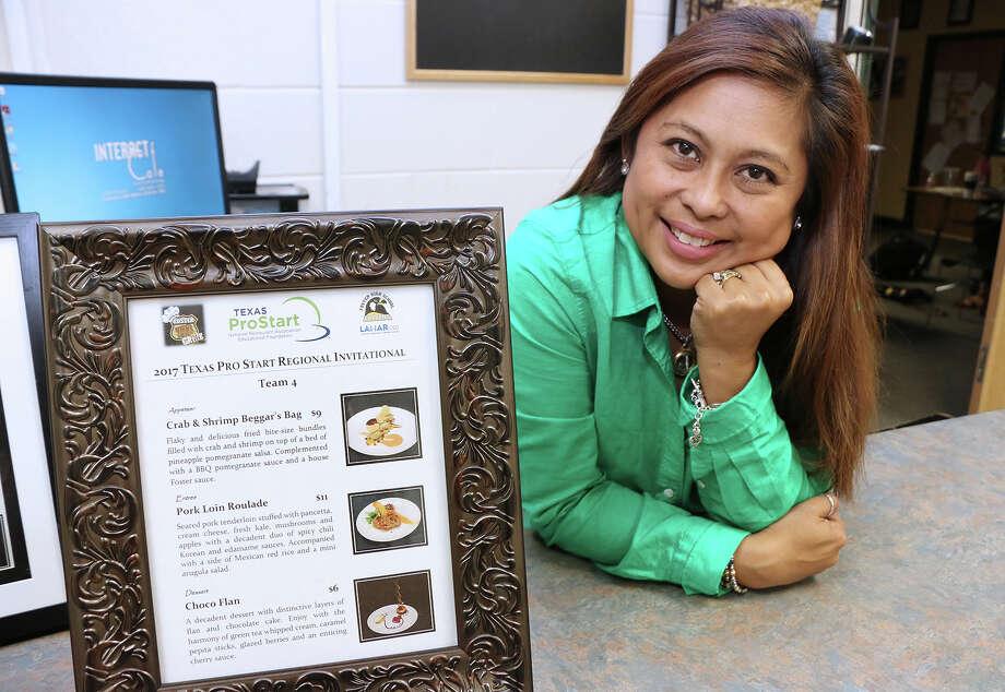 Foster High School's Jocelyn Aventurado is a National Restaurant Association Educational Foundation ProStart National Educator of Excellence. Photo: Lamar CISD