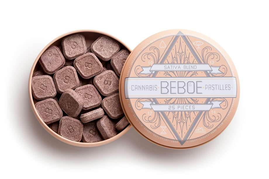 Beboe pastilles are cannabis-infused medical candies with 5 mg of sativa-blend THC and 3 mg of CBD and take up to an hour for absorption into the body. $25, with a California doctor's cannabis recommendation, at www.beboe.com. Photo: Beboe