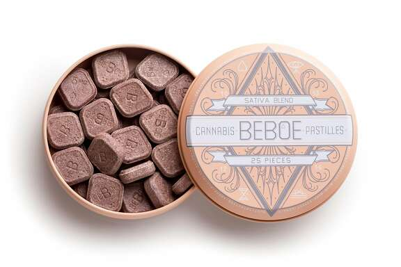 Beboe pastilles are cannabis-infused medical candies with 5 mg of sativa-blend THC and 3 mg of CBD and take up to an hour for absorption into the body. $25, with a California doctor's cannabis recommendation, at www.beboe.com.