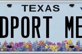 Licence plates rejected by the Department of Motor Vehicle in January, February and March.
