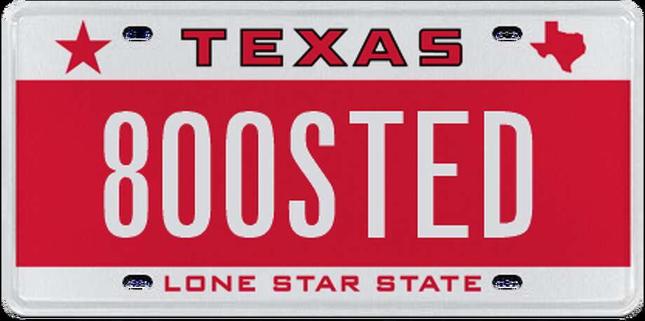 Licence plates rejected by the Department of Motor Vehicle in January, February and March. Photo: Chron.com/ Houston Chronicle