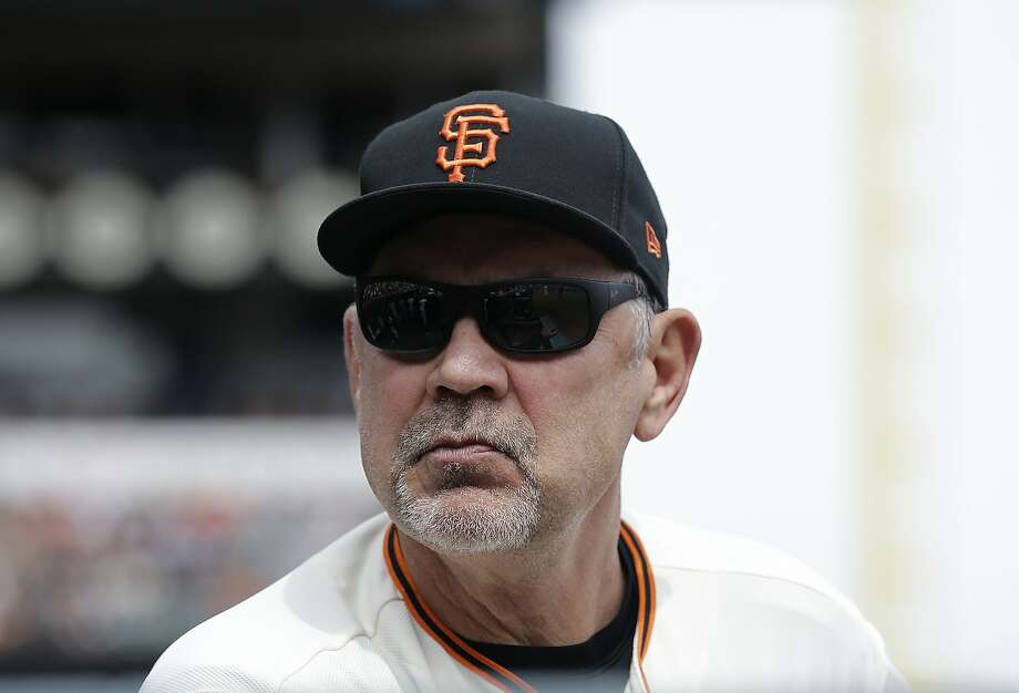 Giants manager Bruce Bochy, who turned 62 Sunday, is resting at home in San Diego. Photo: Jeff Chiu, Associated Press