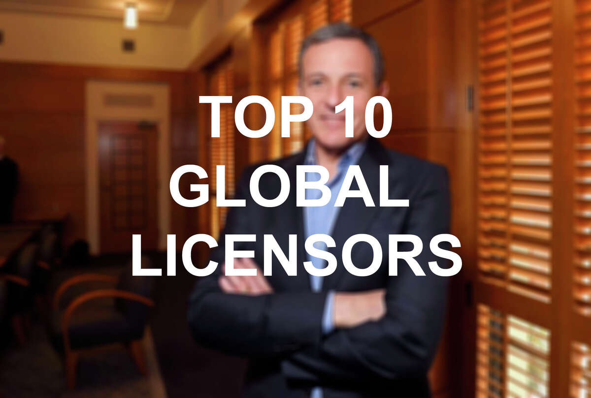 Click through the slideshow to see the top 10 companies for global licensing, according to an annual ranking published by License Global magazine.