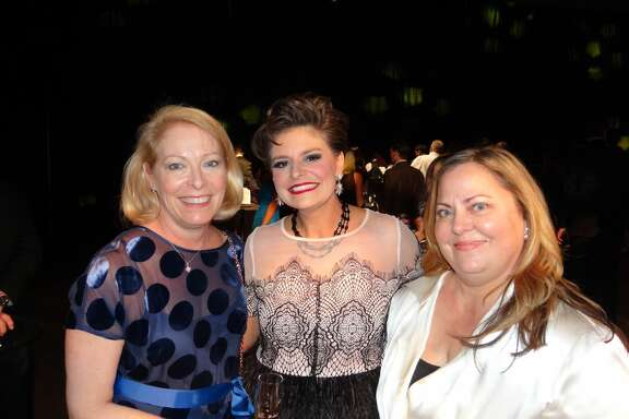 Dana Henry, Lynda Moncla, and Kate Davis at Dancing with the Stars of Southeast Texas.      Photo: Shelly Vitanza