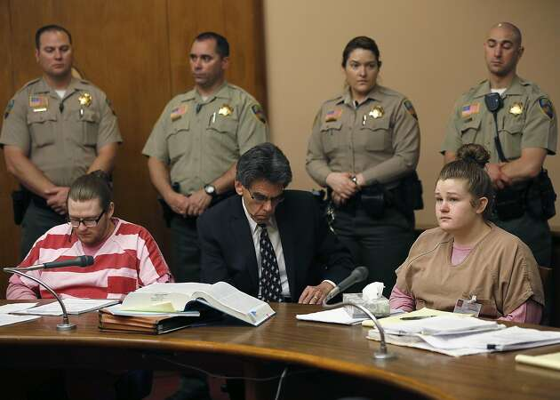 Victims' families cry as killers are sentenced in Marin County