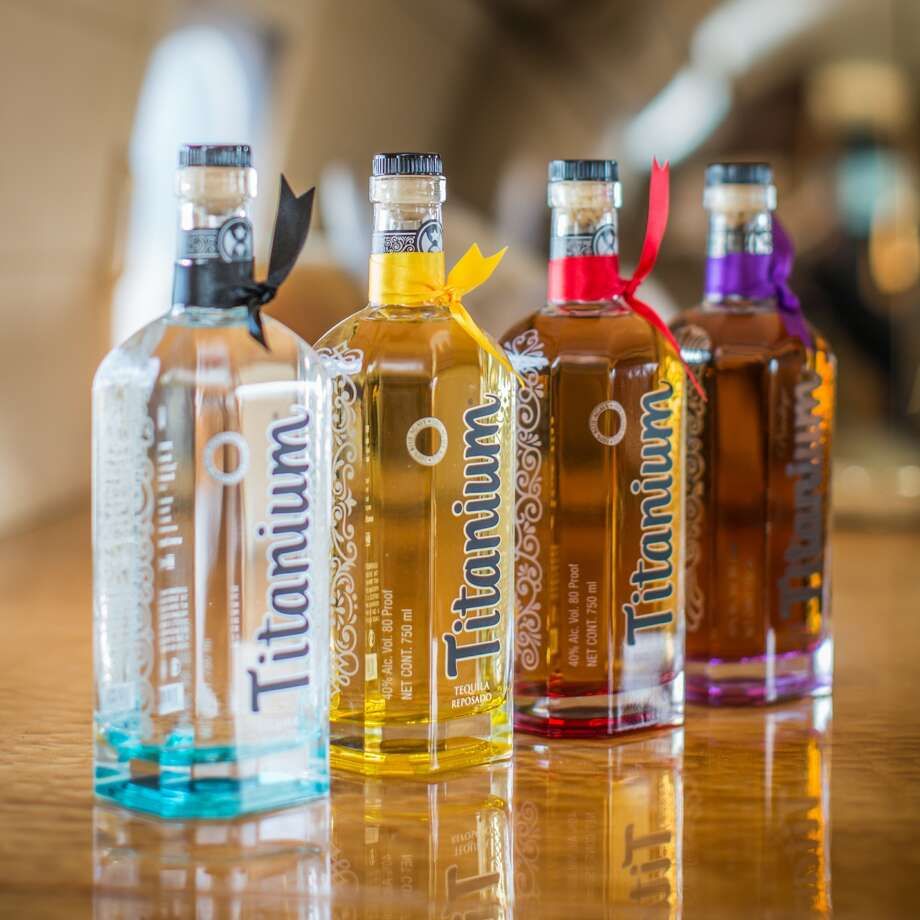 Titanium Tequila introduced a new bottle. The brand will be distributed  to five states by Republic National Distributing Co. Photo: Titanium Tequila