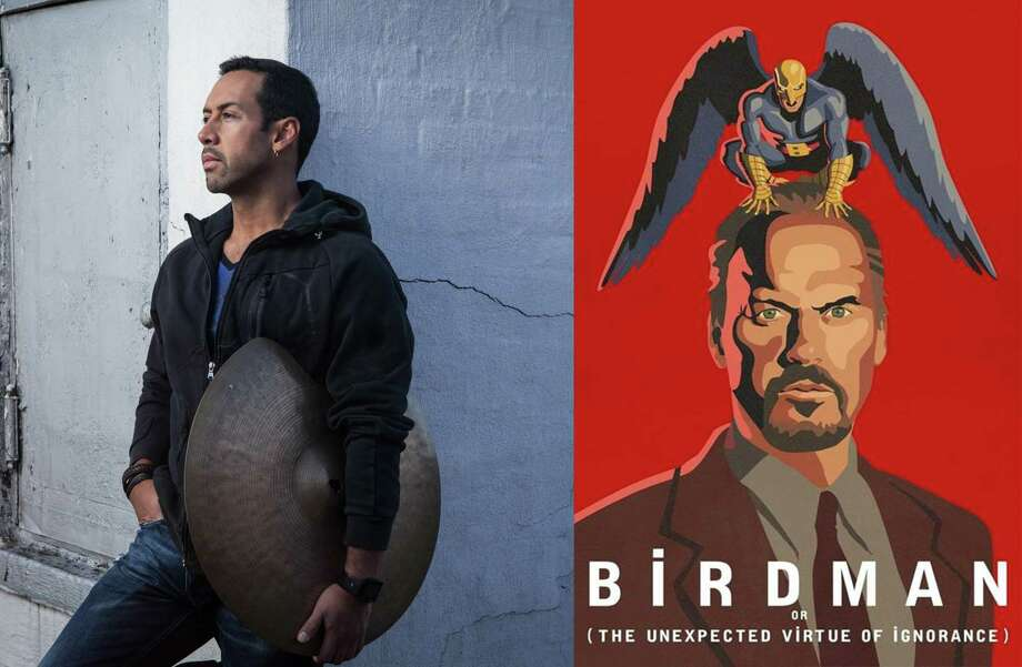 "Percussionist Antonio Sanchez (left) will perform his score for ""Birdman"" live during a screening of the film. The performance is being presented by Arts San Antonio. Photo: Courtesy Photo"