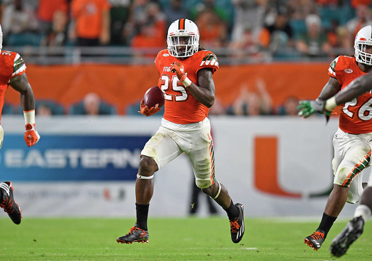 DB Adrian Colbert, Miami Colbert moved from safety to cornerback when he transferred from Texas before his final college season. Injuries (torn meniscus, broken arm) prevented his 2016 campaign from being very productive. He totaled 22 tackles and an interception in seven games, but that didn't prevent the projected late-round pick from getting a visit with Seattle.