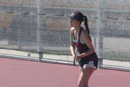 Cinco Ranch's Nicole Gross advanced to the District 19-6A girls singles final. Gross will be one of nine Katy ISD entries at the Region III-6A Tournament, April 18-19 at Deer Park High School.