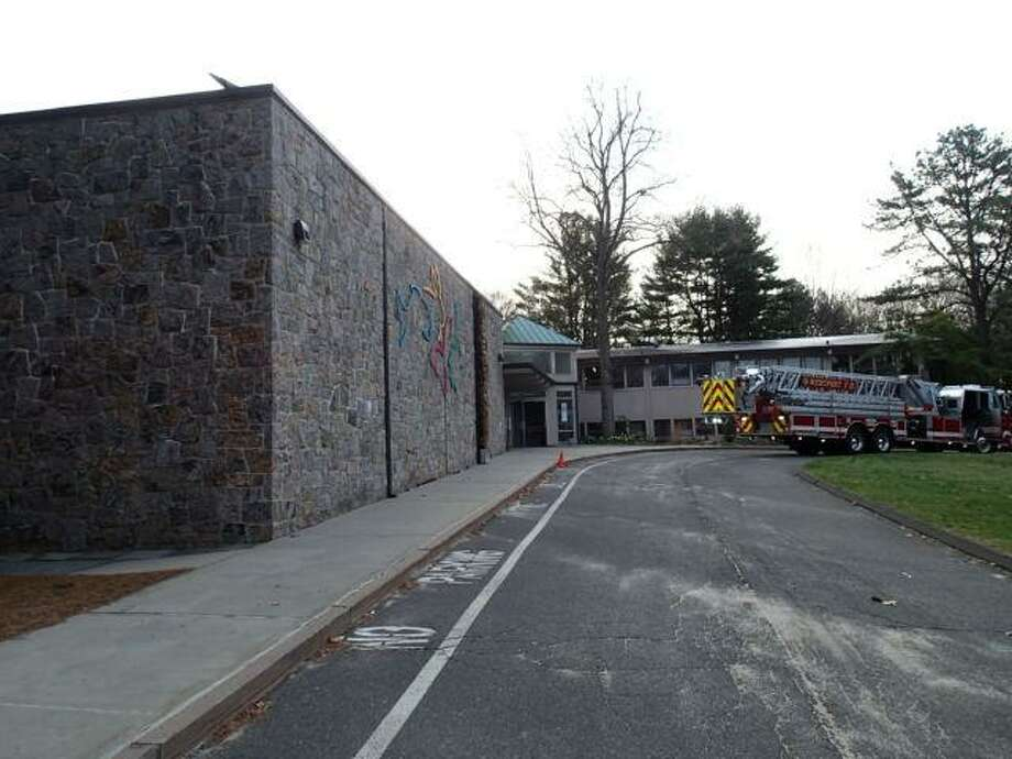 The Westport Fire Department responded to a fire at the Earthplace natural history museum around 6 a.m. Friday morning. Photo: Contributed Photo