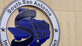 South San Antonio Independent School District board members  attend a 2013 meeting at district headquarters. All but one member of the often-dysfunctional board have been replaced since 2014, and the district is no longer under state supervision.