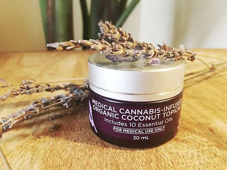 Aunt Zelda�s Cannabis-Infused Coconut topical,�$25 for 15mL, and $50 for 30mL, www.azcannaoil.com