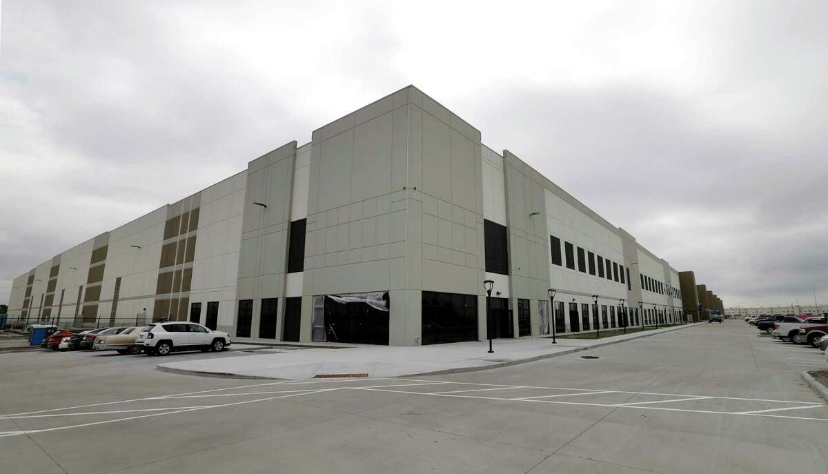This distribution center in north Houston is one of three new local projects planned by Amazon.
