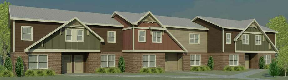 Artist's rendering of the rehabilitated Martin Luther King apatments in Troy (Courtesy of Beacon Communities Development)