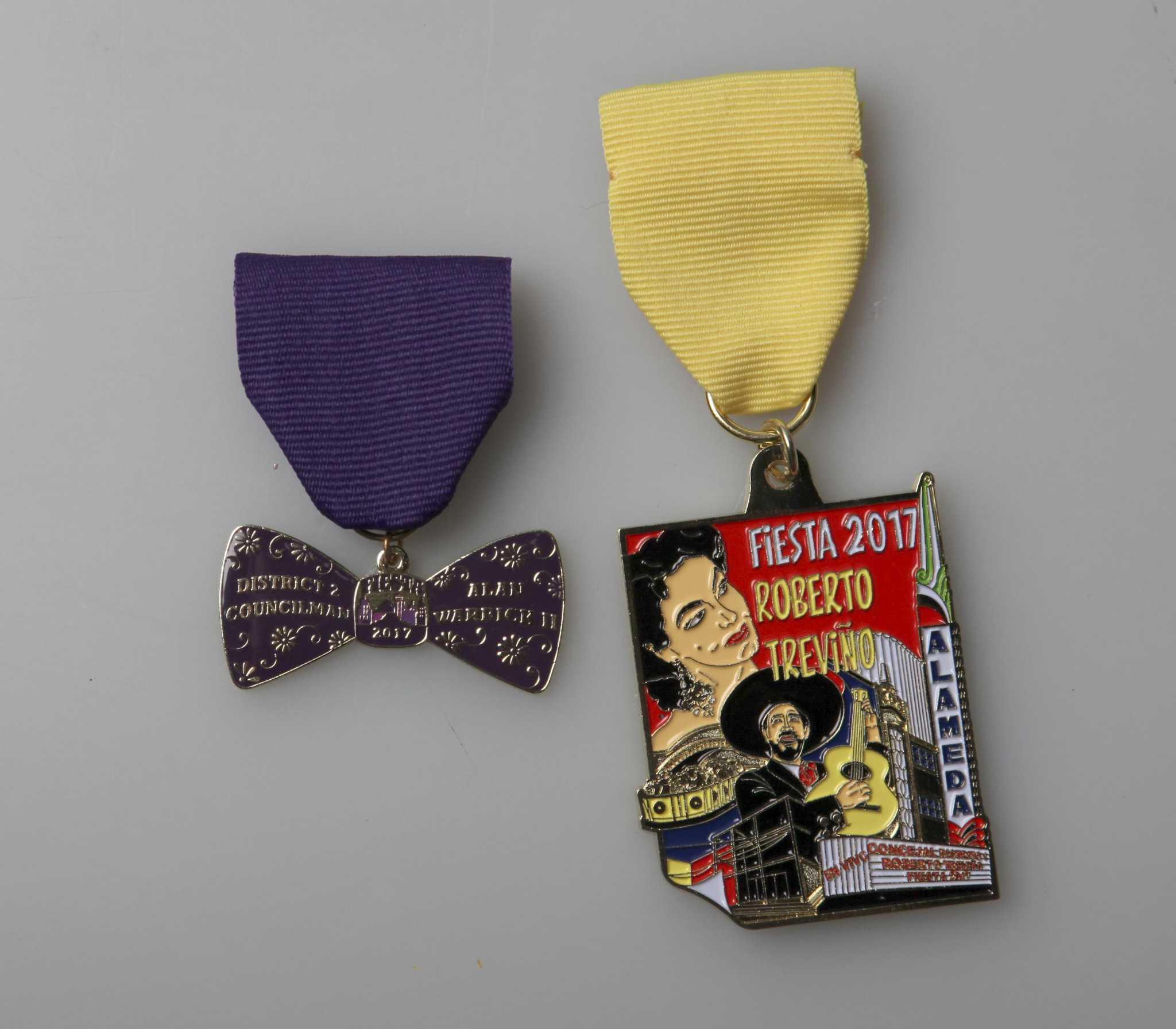 Fiesta medals giveaway