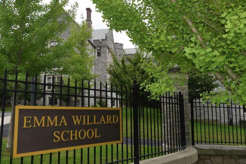Emma Willard School on Tuesday, Oct. 4, 2016, in Troy , N.Y. (Michael P. Farrell/Times Union)