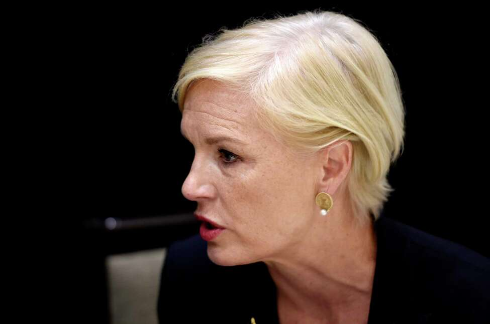 Cecile Richards, president of the Planned Parenthood Federation of America, spoke to the Times Union Tuesday, July 12, 2016, during a break from her public appearance at the Hilton Hotel in Albany, N.Y. (Skip Dickstein/Times Union)