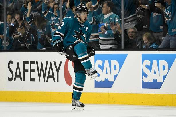 Logan Couture Shakes Off Blow To Face, Scores Twice For Sharks