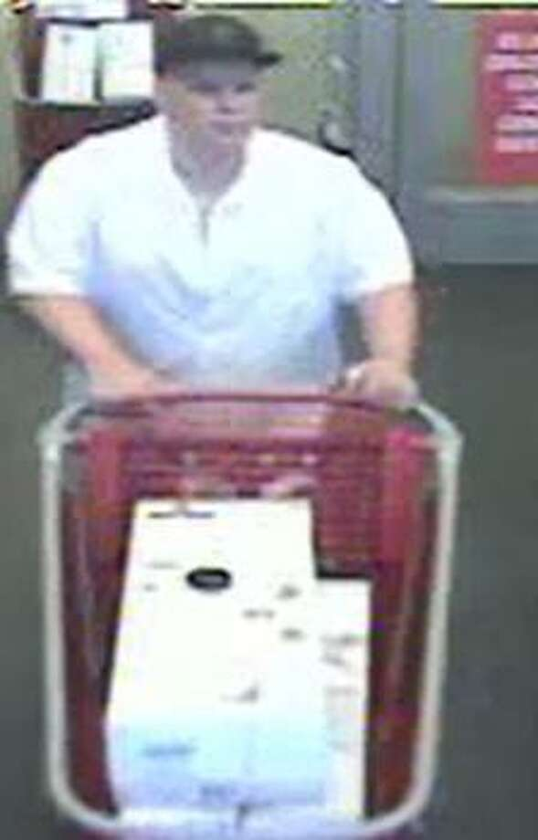 Police are searching for two suspects accused of stealing vacuums from a Cinco Ranch Target on April 8, 2017. Photo: Fort Bend County Crime Stoppers