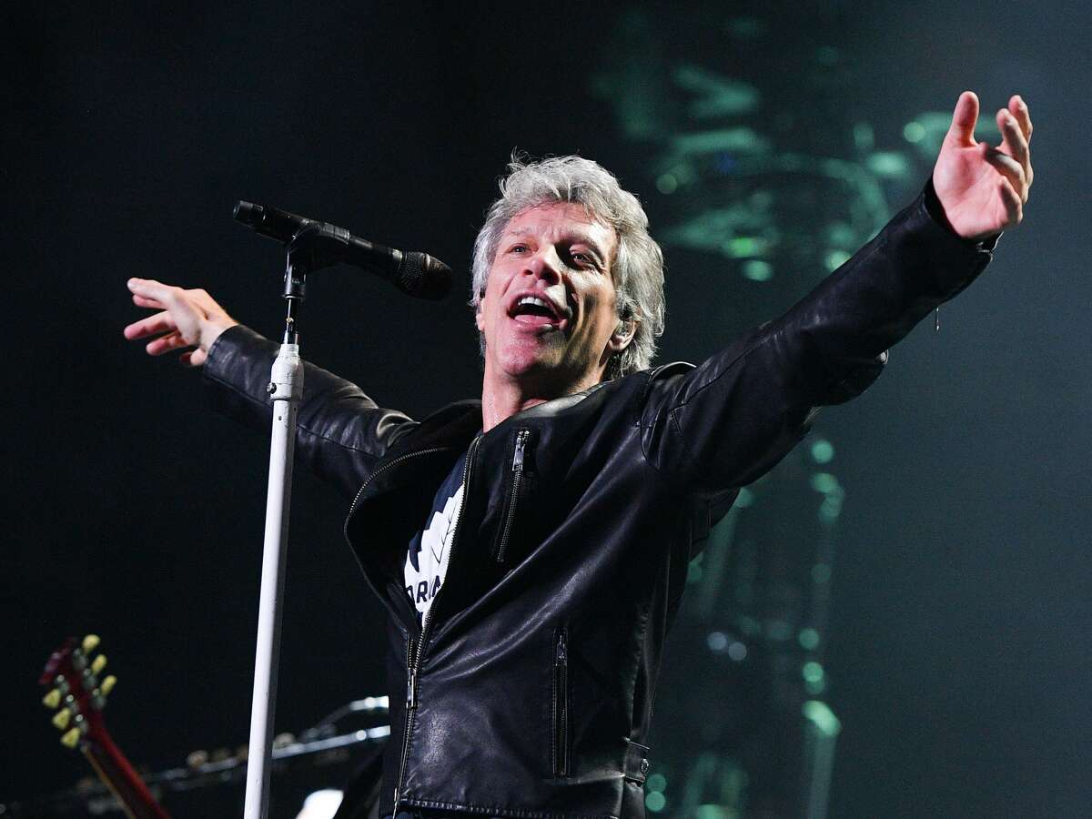 Jon Bon Jovi performs live at the Air Canada Centre on April 10, 2017 in Toronto.