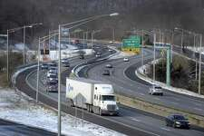 """A plan to widen I-84 in the Danbury area is one of the most wasteful highway expansions in the U.S., according to a report by a consumer, public interest group. The state Department of Transporation is planning to rebuild an eight-mile, heavily congested stretch of I-84 between Exits 3 and 8 in Danbury. A report released April 18, 2017 by the Connecticut Public Interest Research Group Education Fund and Frontier Group, calls the project an """"outright boondoggle."""""""