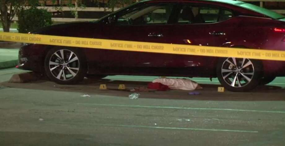 Houston police are investigating a shooting that happened Tuesday night in northeast Houston that left one man injured. Photo: Metro Video