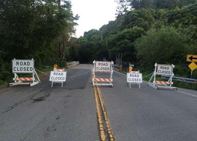 Route between Moraga and Oakland shut down due to Canyon Road bridge damage