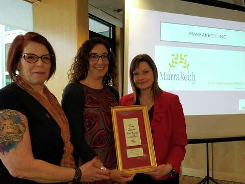 Women receive Caring Heart award at Griffin lunch