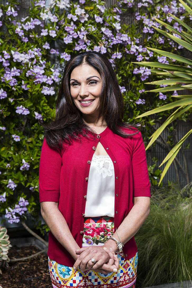 Venture capitalist Shelly Kapoor Collins, former National Co-Chair for Technology during the 2012 presidential campaign for President Obama, poses for a portrait at The Battery in San Francisco, Calif. on Monday, April 17, 2017. Kapoor Collins was