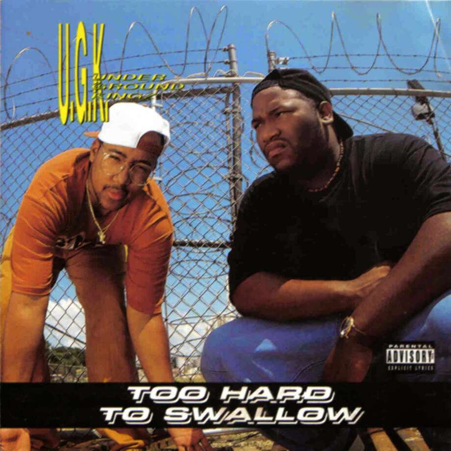 "UGK's first album ""Too Hard To Swallow"" was released in 1992. Photo: Album Cover"