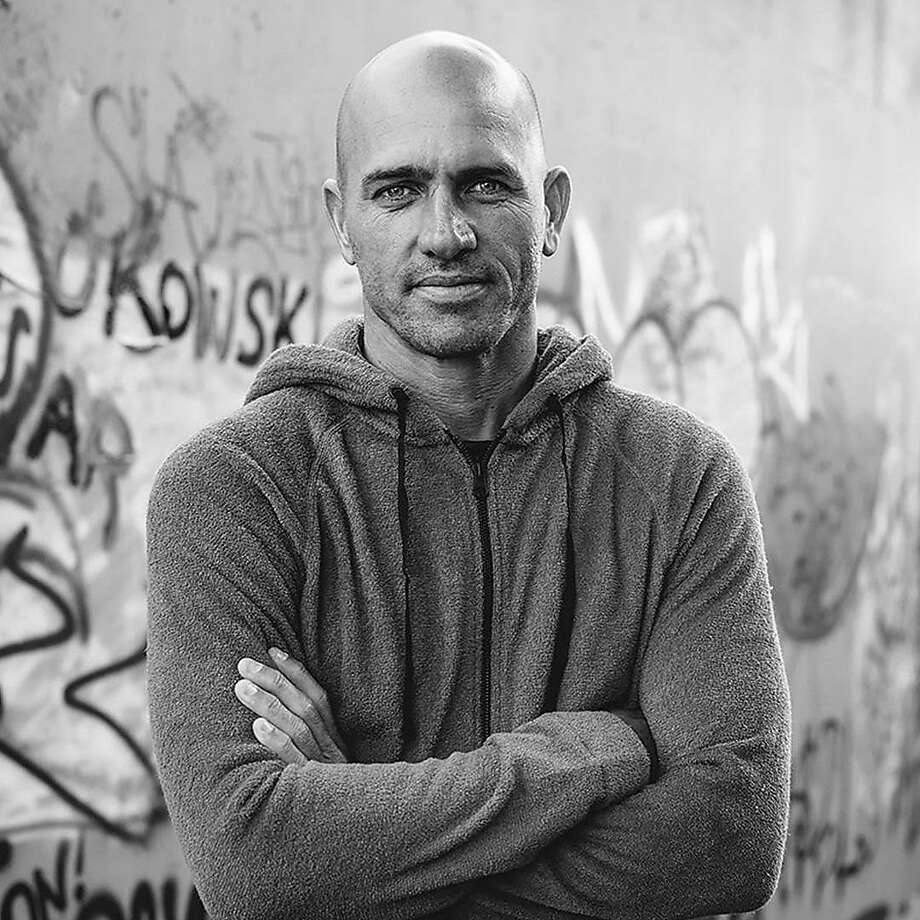 "Surfer and Outerknown founder Kelly Slater is one of the company leaders participating in the ""We Wear Fair Trade"" portrait series conceived by Oakland's Fair Trade USA and photographer Jeff Johnson. Photo: Jeff Johnson"