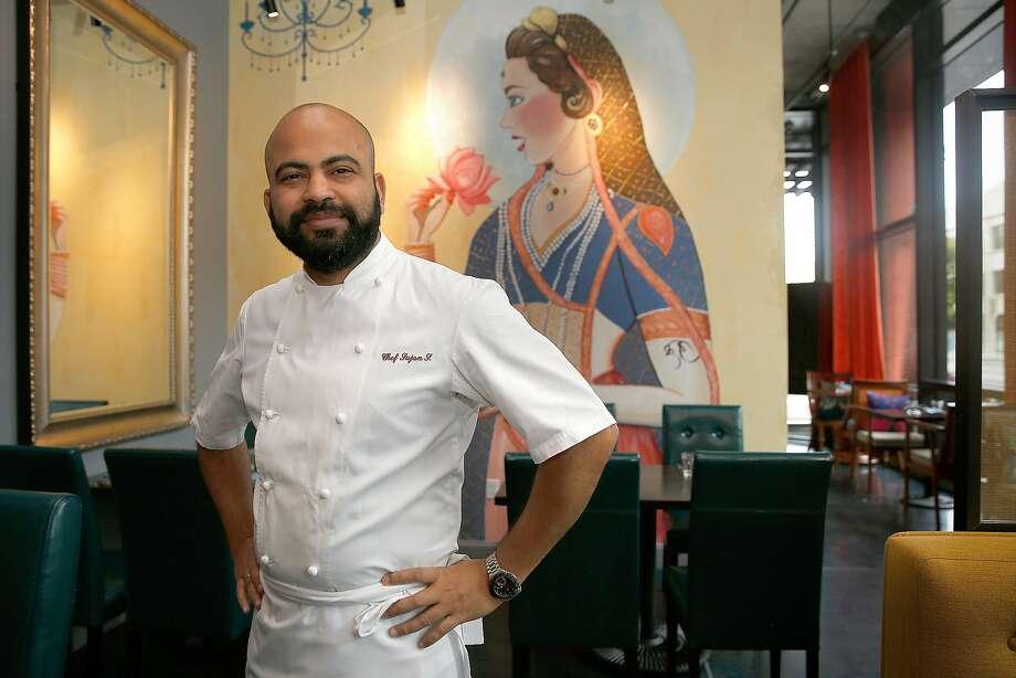 Executive chef Sujan Sarkar at Rooh on Tuesday, April 18, 2017, in San Francisco, Calif. Photo: Liz Hafalia, The Chronicle