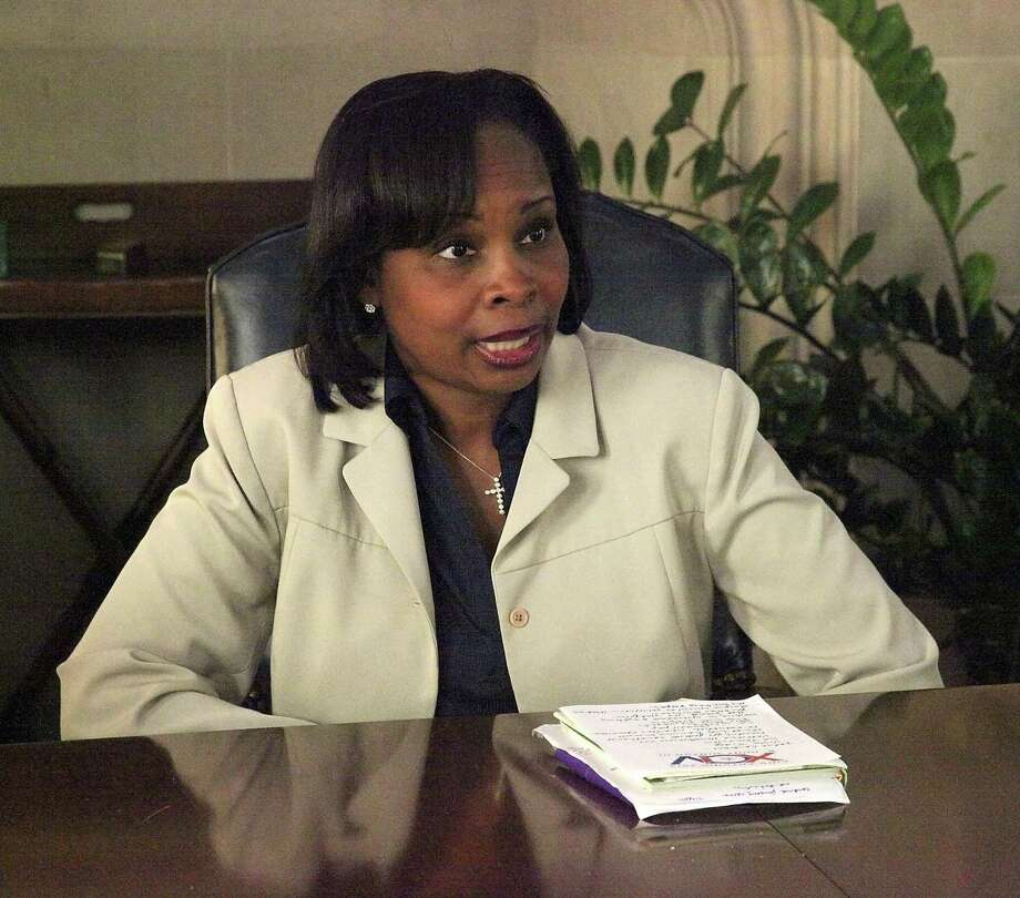 "Mayor Ivy Taylor responds to a viral video of her saying that she viewed the ""deepest systemic causes of generational poverty"" in San Antonio as ""broken people"" who are not ""in relationship with their Creator."" Photo: Juanito M Garza, San Antonio Express-News / San Antonio Express-News / San Antonio Express-News"