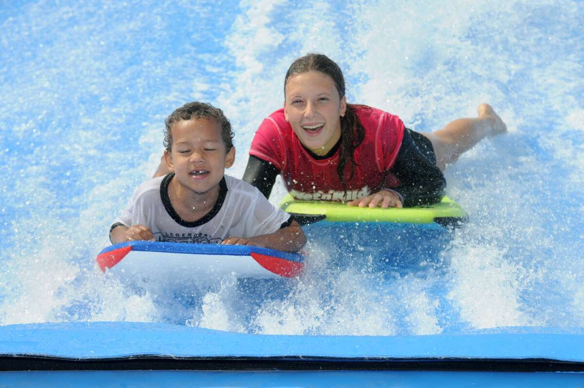 One of the Houston area's most popular warm weather attractions opens again for business this coming weekend, just in time for higher temperatures. Spring's Wet'n'Wild SplashTown kicks off its 2018 season on Saturday, May 5. The gates open at 10 a.m. sharp.