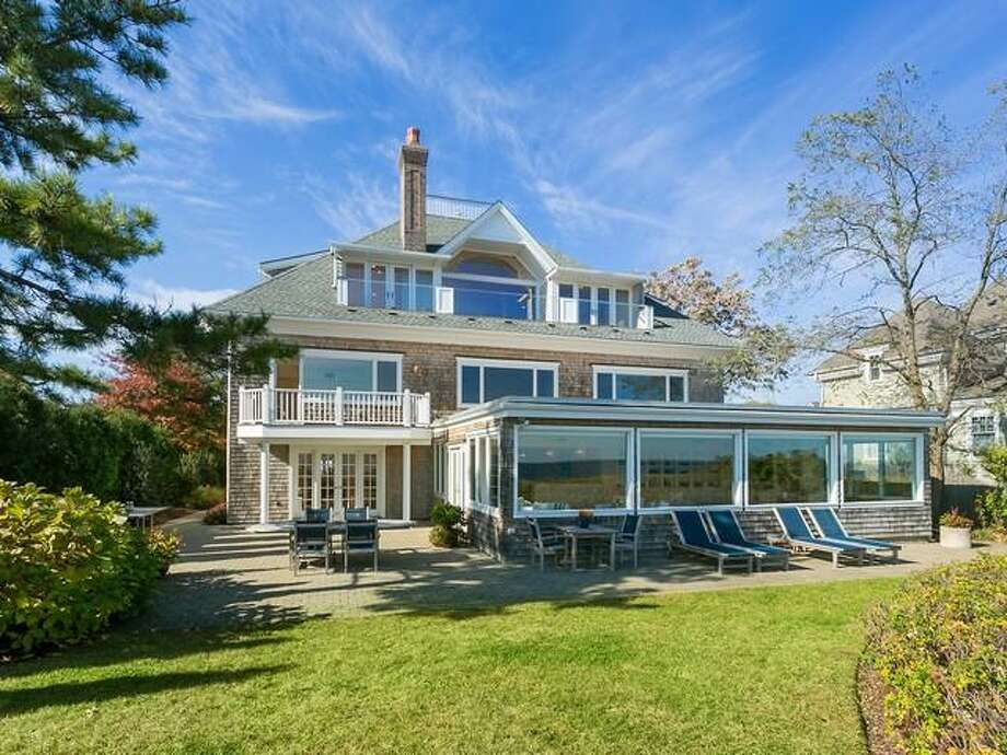 The property at 195 Fairfield Beach Road in Fairfield sold in March 2017 for $3.45 million and was listed for $3.5 million. Across the town, properties are selling at 97.5 percent of the asking price. Photo: Contributed Photo / Contributed Photo / TaneFilms.
