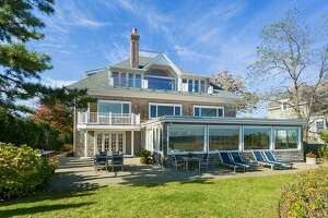 The property at 195 Fairfield Beach Road in Fairfield sold in March 2017 for $3.45 million and was listed for $3.5 million. Across the town, properties are selling at 97.5 percent of the asking price.