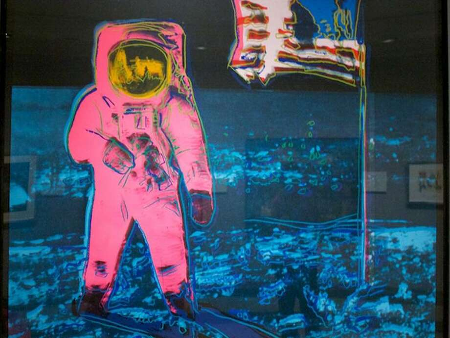 Out of this world artworkArtists have worked along side NASA scientiststo capture the space agency's most important achievements.Click through to see the coolest pieces of art inspired by NASA. Photo:  Andy Warhol, 1987/NASA Art Program
